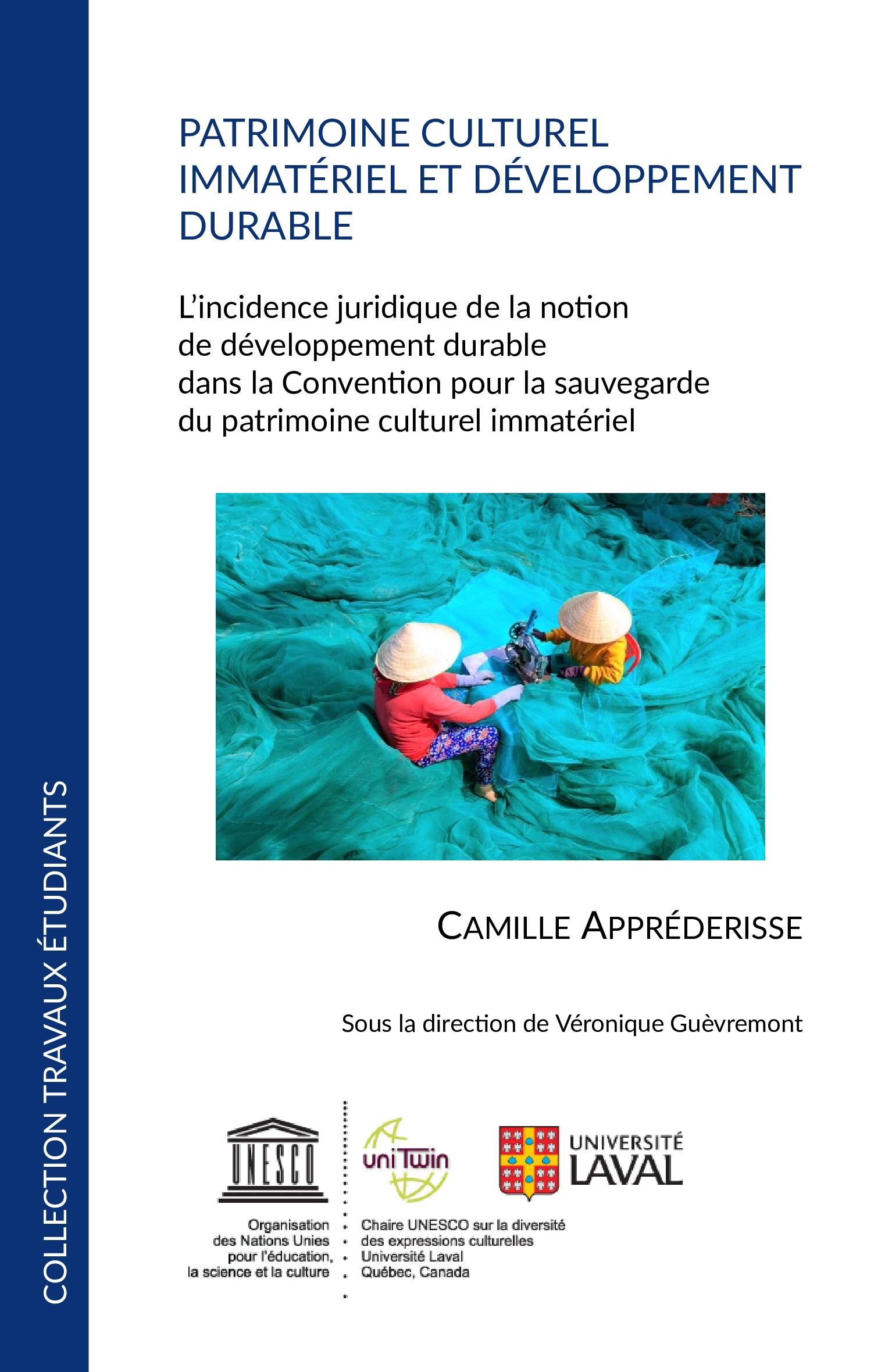 Patrimoine Culturel Immatériel Et Développement Durable