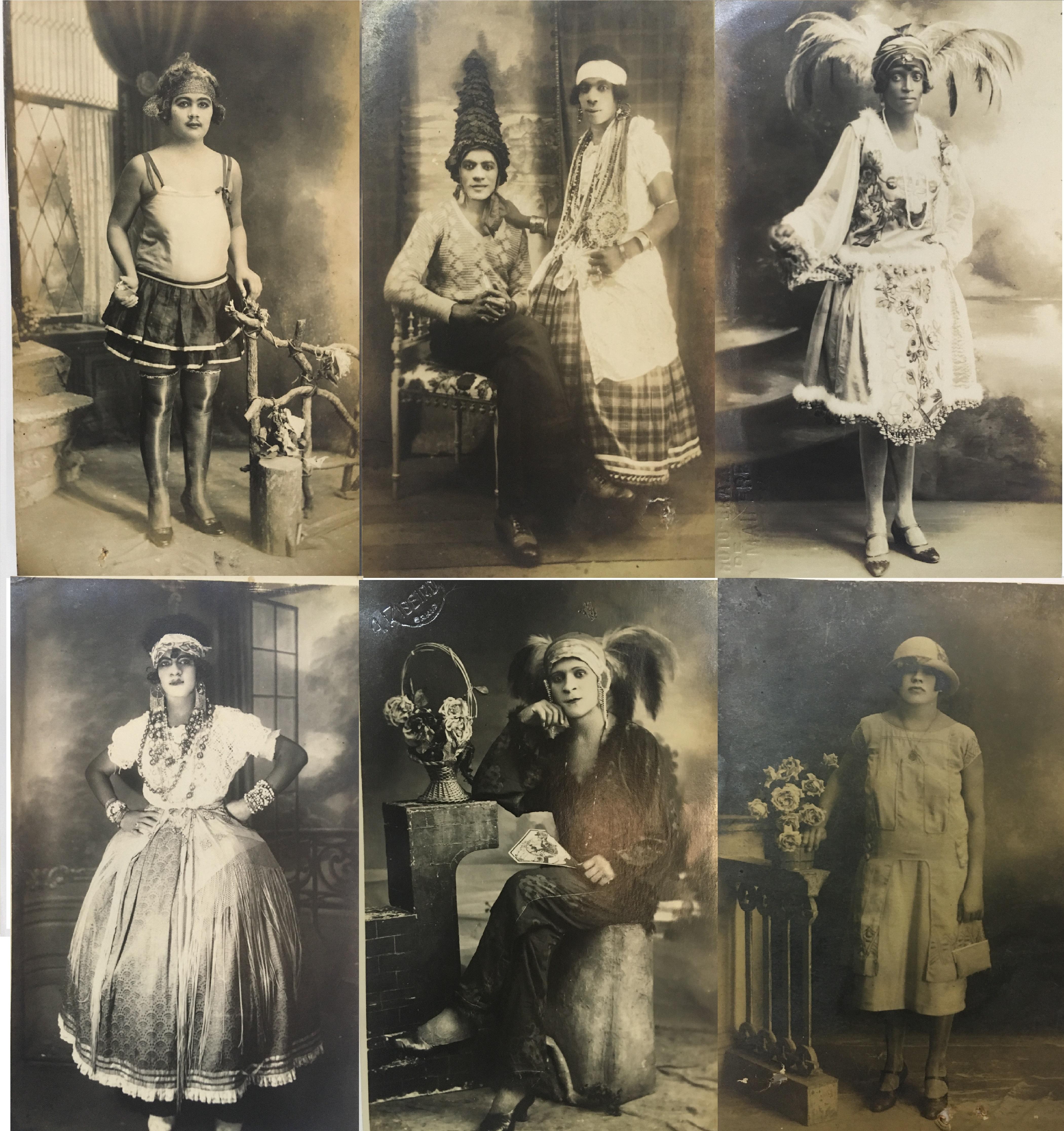 Travestis y Pederastas de Salvador de Bahía / Fuente: Acervo da Fundação Biblioteca Nacional do Brasil