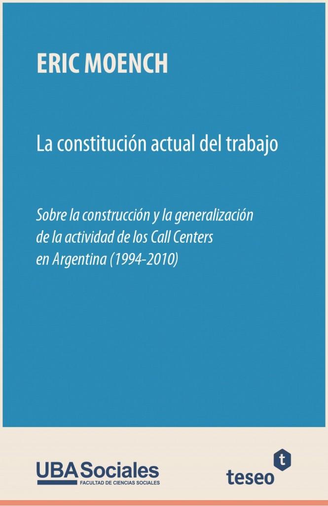 La constitución actual del trabajo