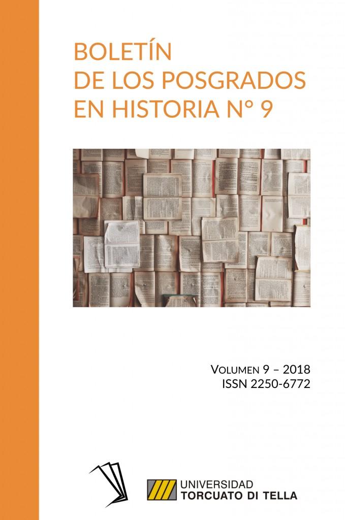 Boletín de los Posgrados en Historia N° 9