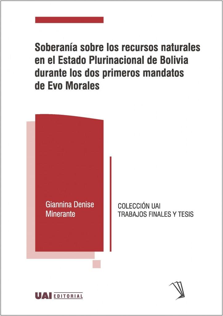 Soberanía sobre los recursos naturales en el Estado Plurinacional de Bolivia durante los dos primeros mandatos de Evo Morales