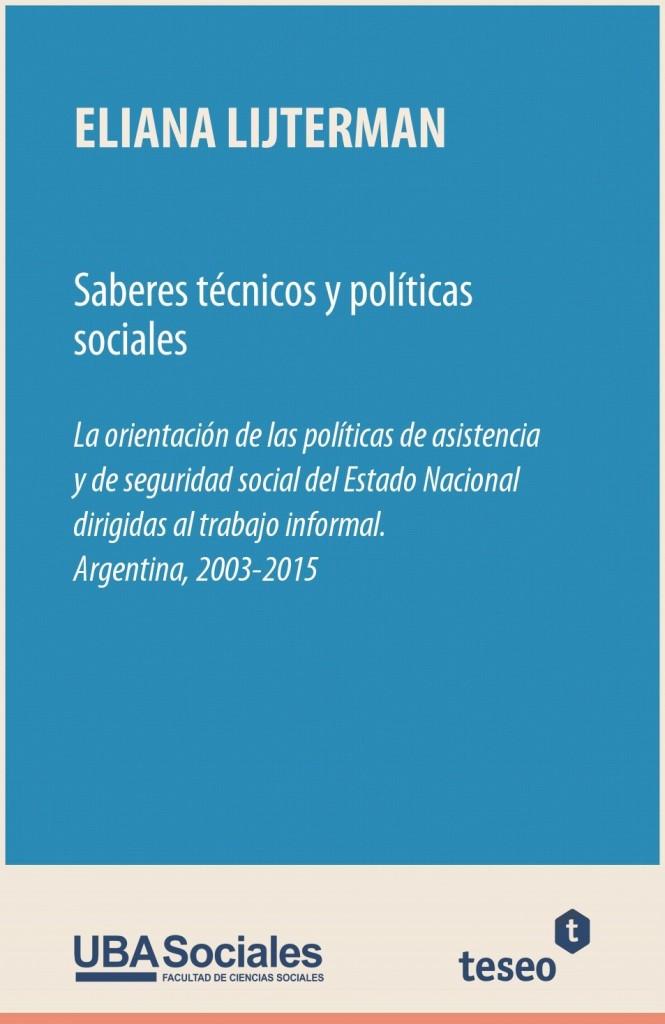 Saberes técnicos y políticas sociales