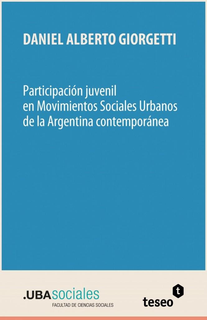 Participación juvenil en Movimientos Sociales Urbanos de la Argentina contemporánea