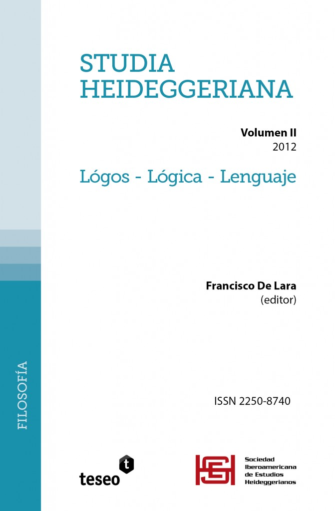 Studia Heideggeriana II