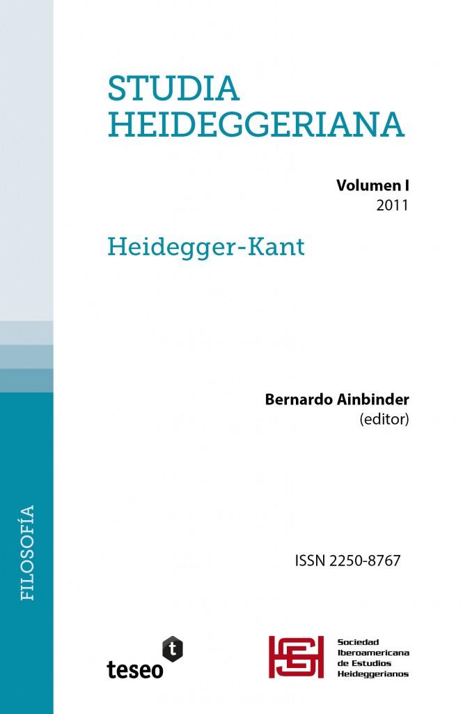 Studia Heideggeriana I